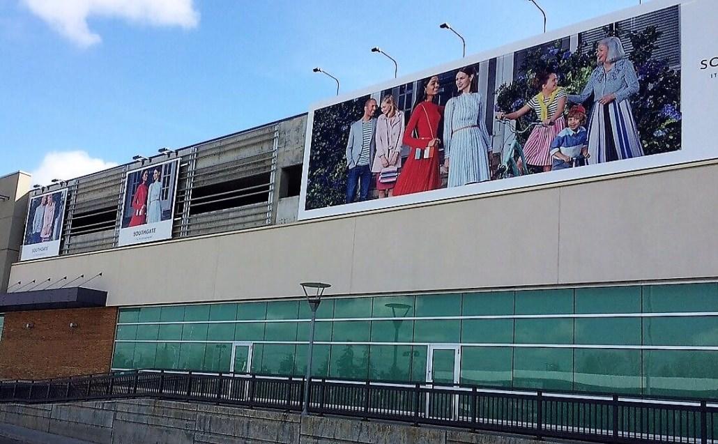 Southgate 40 foot Banner